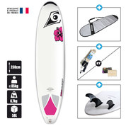 SURF BIC 7.9 NATURAL 2 WAHINE DURA-TEC
