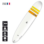 LONGBOARD SURF BIC 9.4 NOSE RIDER ACE-TEC