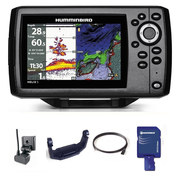 PACK HUMMINBIRD HELIX 5G2 CHIRP XD + CARTE NAVIONICS FRANCE 26G
