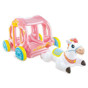 CARROSSE DE PRINCESSE GONFLABLE ENFANT INTEX 56514