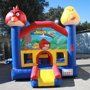 CHATEAU GONFLABLE OCCASION ANGRY BIRD 3M X 3M X 3M
