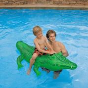 BOUEE CROCODILE GONFLABLE INTEX POUR ENFANT