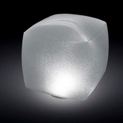 LAMPE CUBE FLOTTANTE A LED INTEX