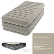LIT GONFLABLE ELECTRIQUE INTEX TWIN COMFORT ELEVATED AIRBED 1 PLACE