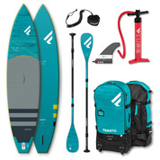 PADDLE FANATIC RAY AIR 13.6x35 PREMIUM 2020 GONFLABLE + PAGAIE CARBONE C35 COMPLET