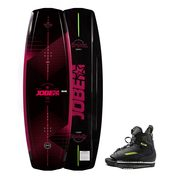 JOBE VANITY WAKEBOARD FEMME 136 & CHAUSSES UNIT PAQUET