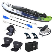 KAYAK AQUA MARINA ORCA 3 PLACES OCCASION RECONDITIONNEE