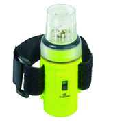 LAMPE DE SECURITE FLASHLIGHT LED JAUNE