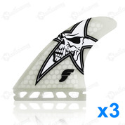 AILERONS FUTURES FINS DHD HONEYCOMB SET DE 3