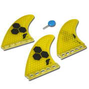 AILERONS FUTURES FINS AM2 FIBER GLASS SET DE 3