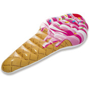 MATELAS GONFLABLE INTEX CORNET DE GLACE ICE CREAM