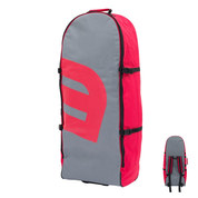 SAC A DOS A ROULETTES HOWZIT ROLLING BACKPACK GRIS/ROUGE