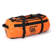 Sac de voyage étanche DUFFEL BAG 90L - HOWZIT ORANGE-BLACK