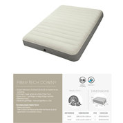 MATELAS INTEX AIRBED FIBER TECH DOWNY 2 PLACES 137X191CM