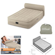 LIT GONFLABLE FIBER TECH INTEX 2 PLACE ULTRA PLUSH