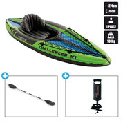 KAYAK GONFLABLE INTEX CHALLENGER K1 (68305)