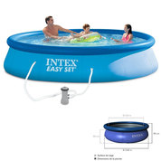 KIT PISCINE EASY SET INTEX 3M96X84CM