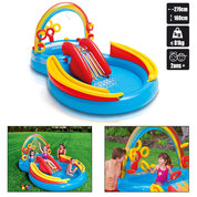 PISCINE POUR ENFANTS INTEX RAINBOW RING PLAY CENTER
