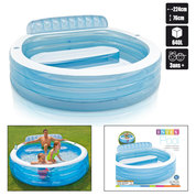 PISCINE GONFLABLE INTEX SWIM CENTER FAMILY