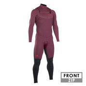 COMBINAISON ION ONYX ELEMENT SEMIDRY 5/4 FRONTZIP DL 2019 ROUGE