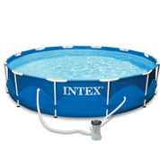 PISCINE TUBULAIRE INTEX METAL FRAME 3,66 X 0,76 M