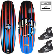 PACK WAKEBOARD LIQUID FORCE OMEGA 139 + MAZE