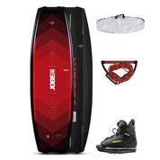 PACK WAKEBOARD JOBE LOGO 138 & CHAUSSES UNIT 2021