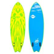 SURF SOFTECH MASON HO TWIN SIZE LIME/JAUNE 5.6