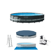 PISCINE TUBULAIRE RONDE INTEX ULTRA XTR 6.10 X 1.22 M