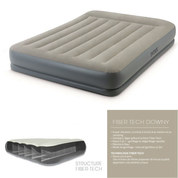MATELAS GONFLABLE INTEX MID-RISE QUEENE FIBER TECH 2 PLACES
