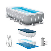 PISCINE TUBULAIRE RECTANGULAIRE INTEX 4.88 X 2.44 X 1.07 M