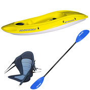 PACK KAYAK BIC OUASSOU SIT ON TOP YELLOW