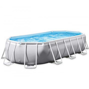 PISCINE TUBULAIRE OVALE INTEX PRISM FRAME 5,03 X 2,74 x 1,22 M