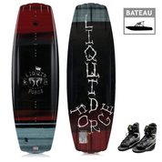 PACK WAKEBOARD LIQUID FORCE CLASSIC 2019 + CHAUSSES JOBE MAZE