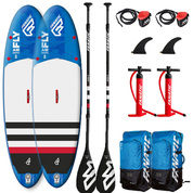 PACK SUP GONFLABLE FANATIC FLY AIR STRINGER 9.8 + FANATIC FLY AIR STRINGER 10.4 2018