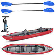 PACK KAYAK GUMOTEX THAYA 2 PLACES CONVERTIBLE ROUGE