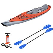 PACK KAYAK GONFLABLE ADVANCED ELEMENTS FRAME CONVERTIBLE ROUGE