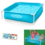 PISCINETTE INTEX CARREE BLEUE