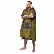 PONCHO AFTER HIGH END MILITARY GREEN