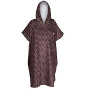 PONCHO AFTER ESSENTIAL WAVES NOIR