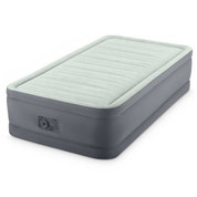 MATELAS INTEX AIRBED AVEC GONFLEUR INTEGRE TWIN PREMAIRE I ELEVATED