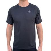 T-shirt UV50+ S/S performance gris VAIKOBI
