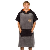 PONCHO AFTER ESSENTIAL SHERPA GRIS