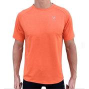 T-shirt UV50+ S/S performance orange VAIKOBI
