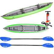 PACK KAYAK GUMOTEX SOLAR 410C 2 PLACES VERT