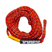 CORDE DE TRACTION JOBE ROUGE 3/4 PERSONNES