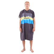 PONCHO RIPCURL MIX UP NOIR/JAUNE