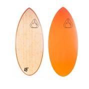 Skimsurf board Massive Apparel Epoxy Wood / Orange