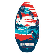 SKIMBOARD SLIDZ WOOD 41 ITAPARICA RED