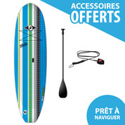 STAND UP PADDLE BIC SLIDE 9.0 + PAGAIE + LEASH 2018